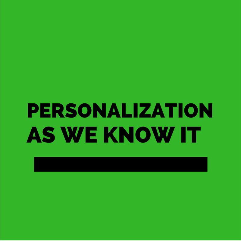 Personalization