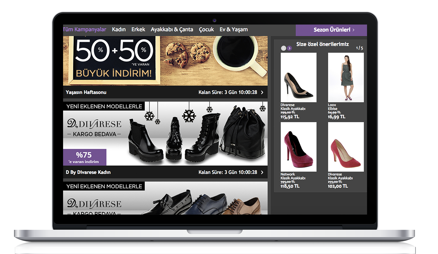 predictive personalization in real time - Perzonalization homepage recommendation