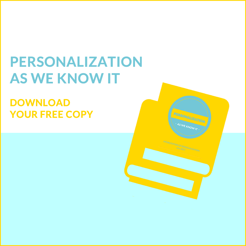 Personalization as we know it eBook3