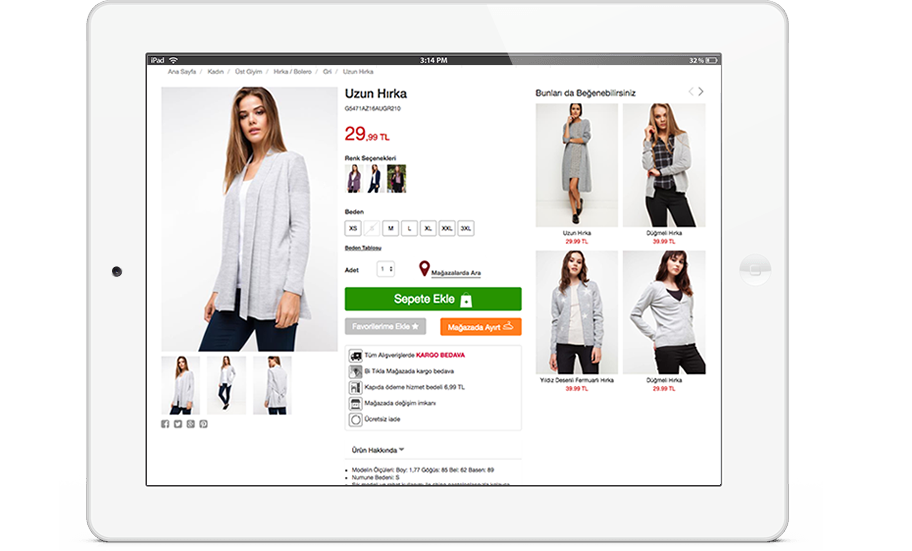 Product Recommendations for mCommerce