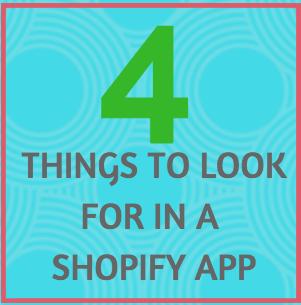 Choosing Shopify App