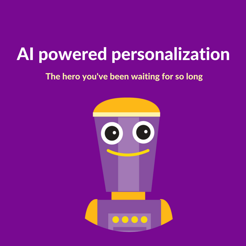 AI powered personalization for eCommerce that's compatible with Shopify, OpenCart, PrestaShop and WooCommerce stores
