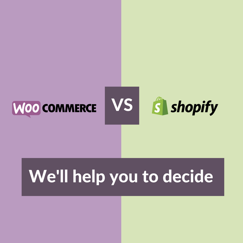 WooCommerce vs Shopify: We'll Help You to Decide