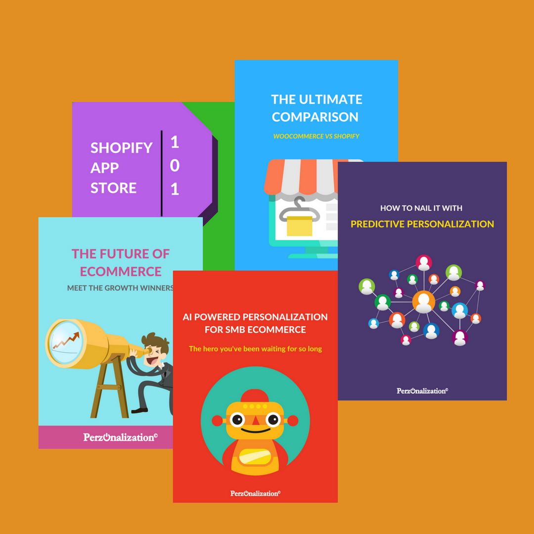 Ecommerce and personalization eBooks