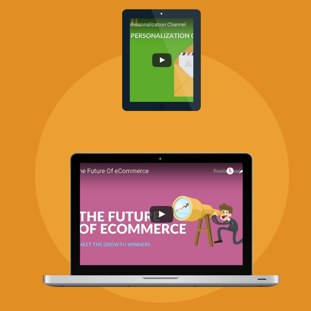 Ecommerce and personalization video resources