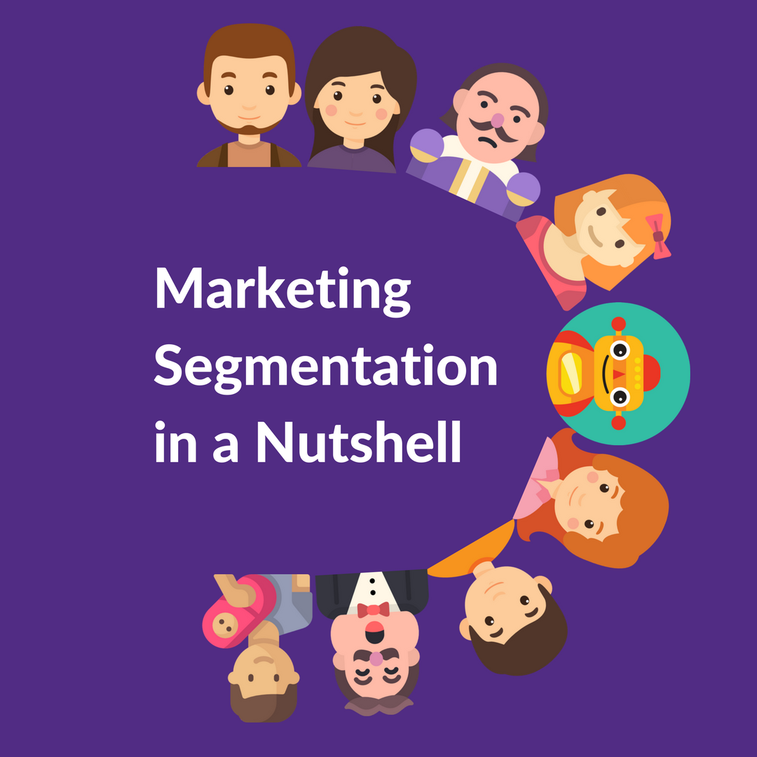 Marketing segmentation is about dividing the population into customer segments. It helps an eCommerce business to reach high-yield customers.