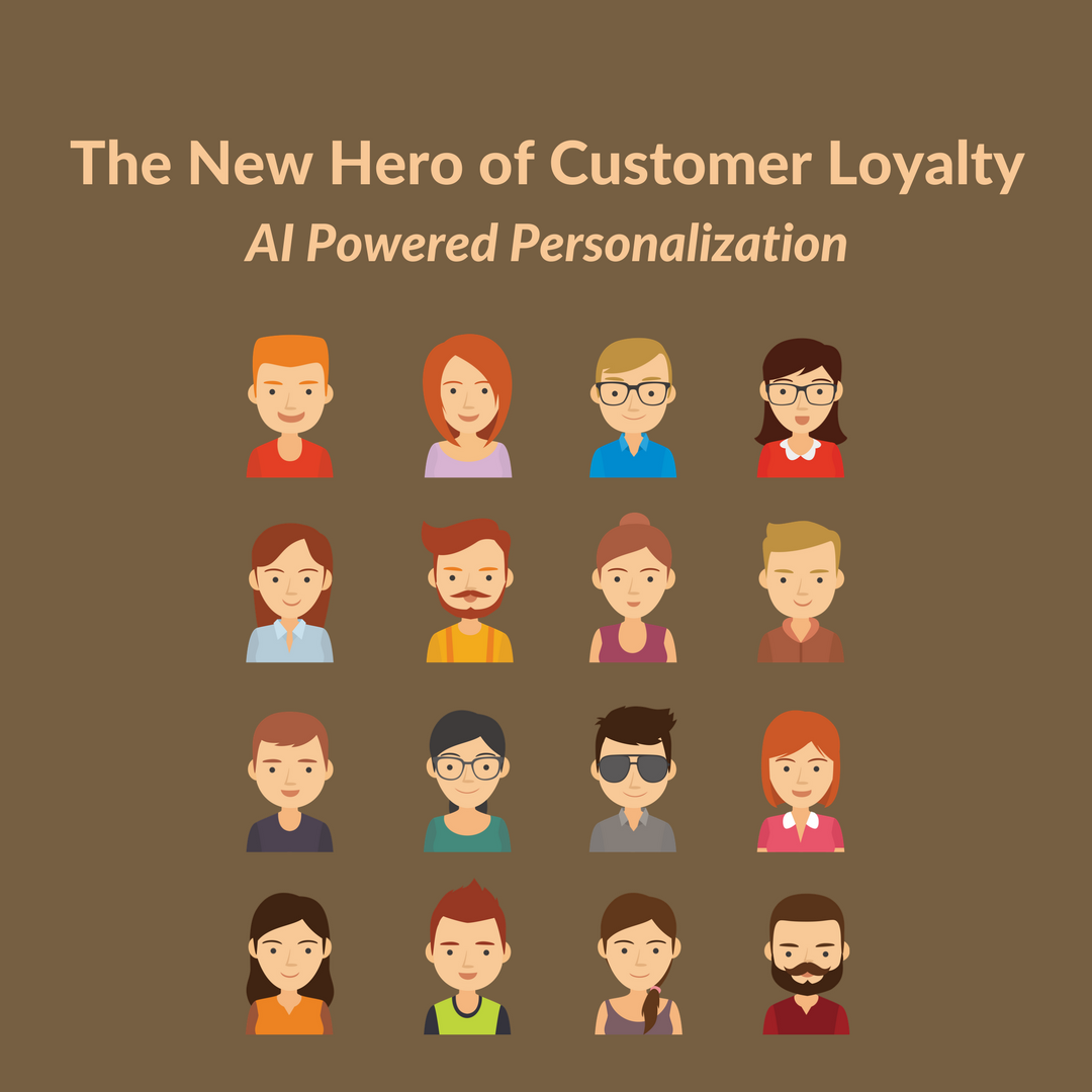 Attracting new customers to your eCommerce site and retaining them is costly. Find out how to increase customer loyalty via AI powered personalization.