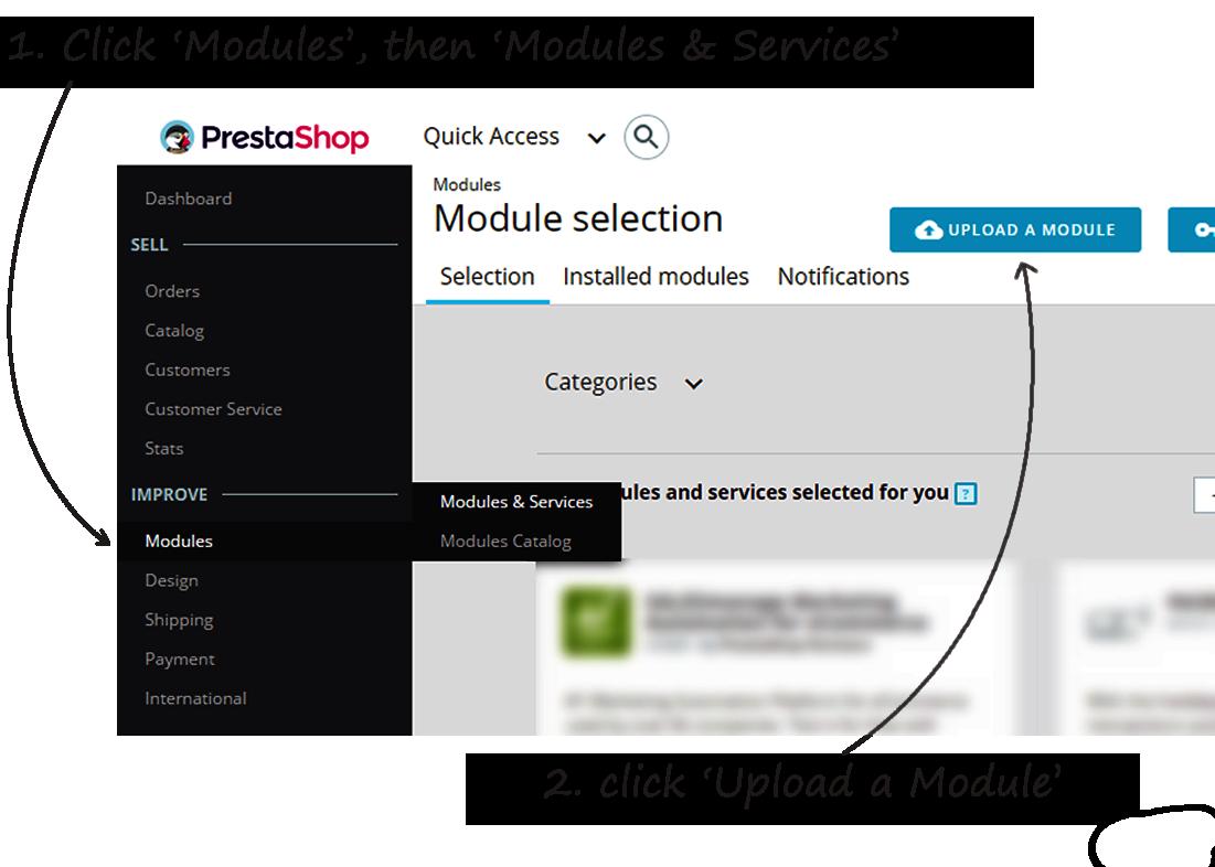 prestaShop install step 11