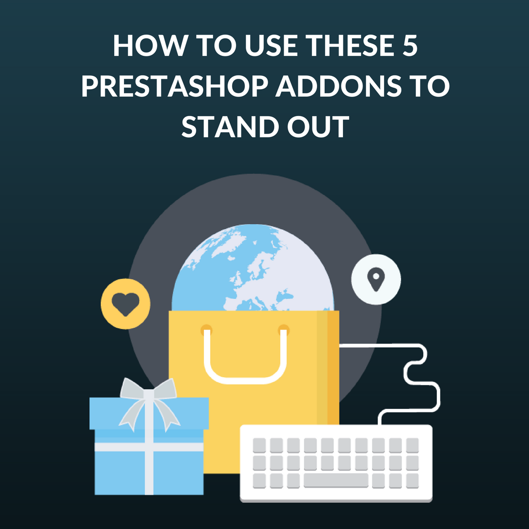 Did you know that PrestaShop addons can help in improving 5 key areas of your eCommerce stores? See our pick of those 5 key areas in our blog.