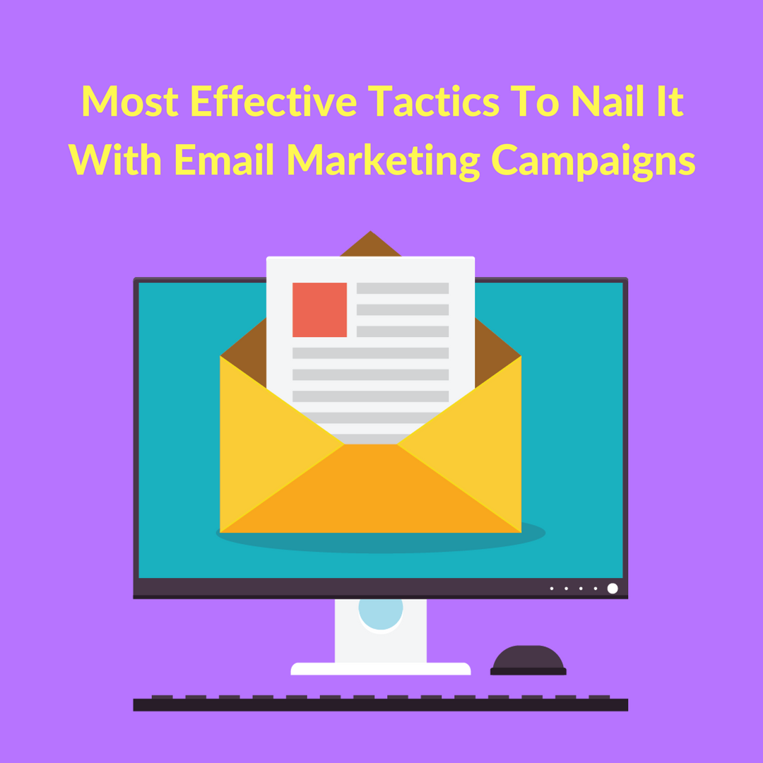 A carefully analyzed and assessed target audience is the key to setting up a successful email campaign or even Newsletter Campaigns for that matter.