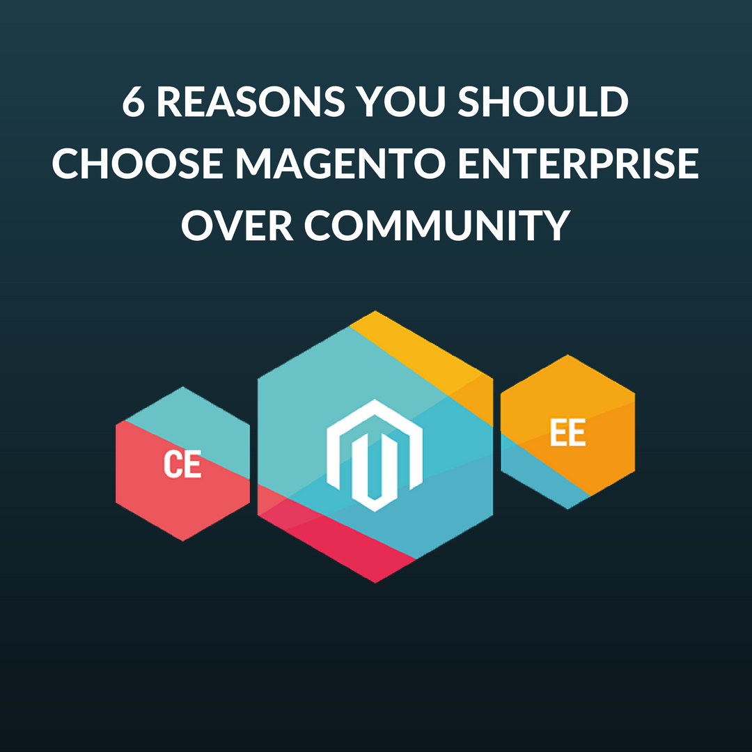 There were very few differences between the Magento Enterprise Edition 1 (EE) and Community Edition(CE). But Magento 2 has changed the game completely.