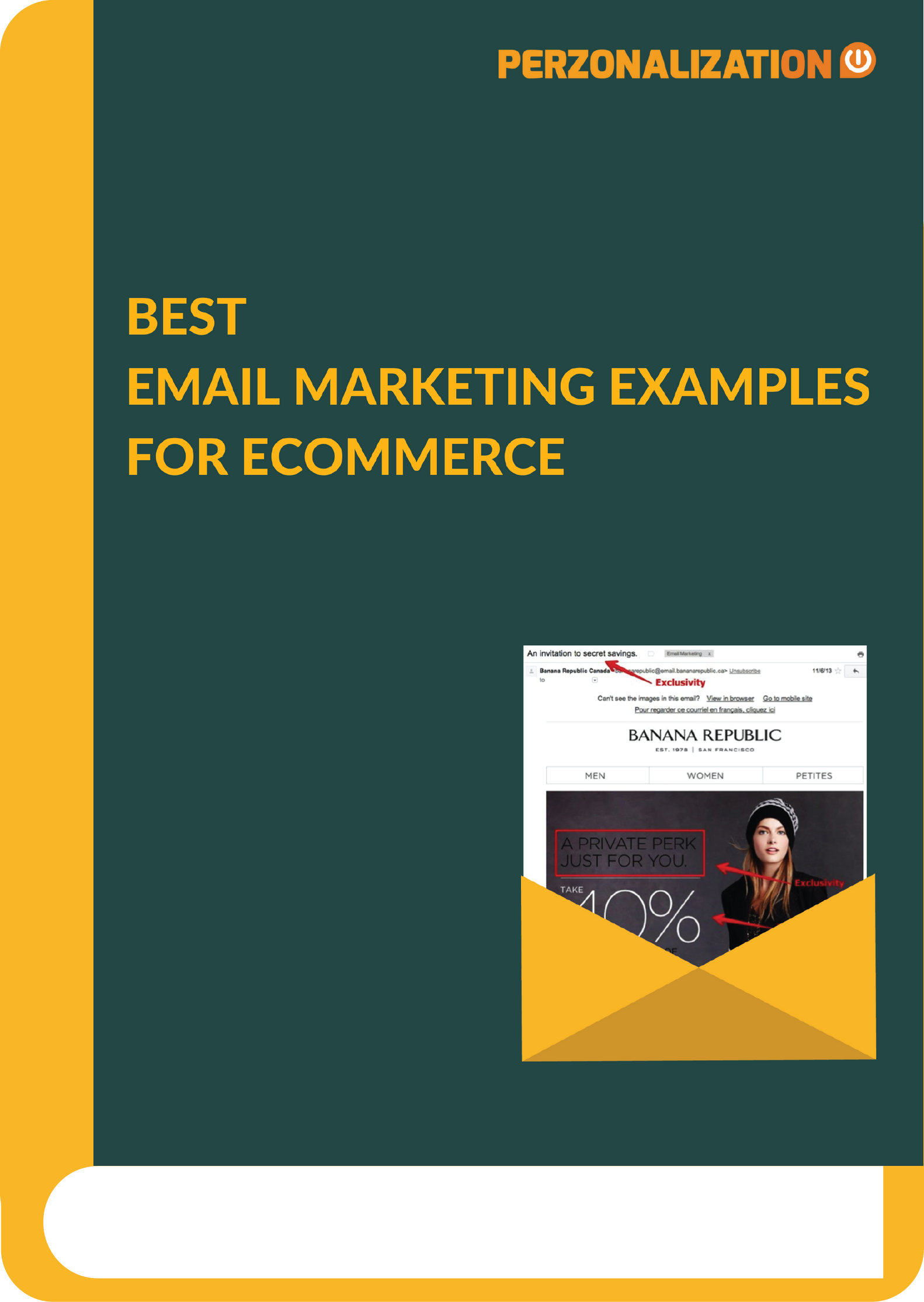 It's not a surprise that best email marketing examples usually come from the eCommerce websites as email is a great retention tool for online retailers.