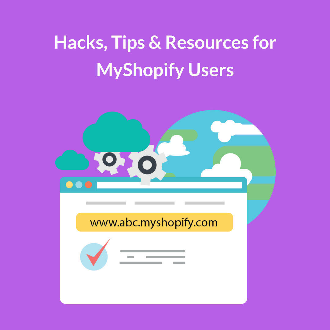 "When you have set up your online store on Shopify, the latter provides you with a free ""Myshopify"" domain. Like for abc store, URL will be abc.myshopify.com"