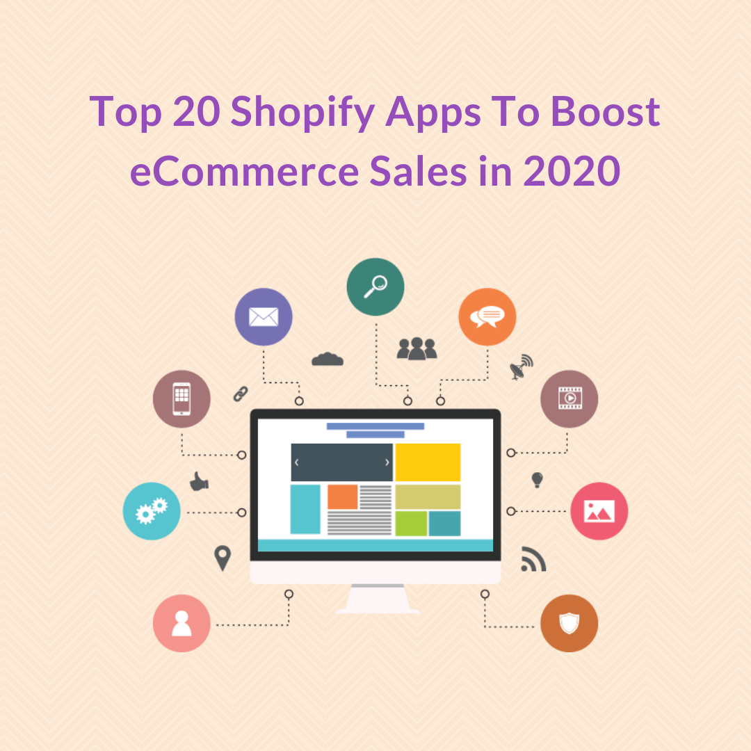 There's a wide range of free and paid Shopify apps. That's why we thought it'd be a great idea to highlight the best Shopify apps to increase sales in 2020.