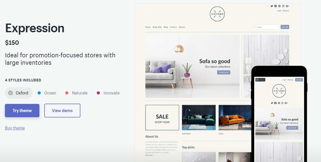 Best Shopify Themes For Fashion In 2019 - Perzonalization