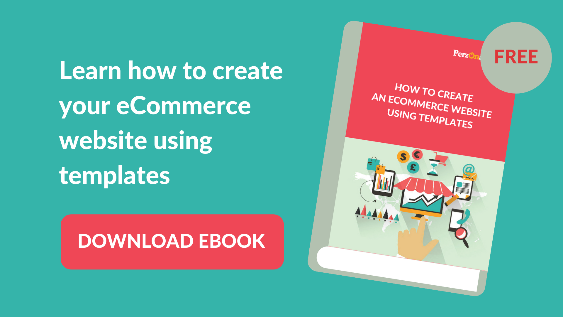 Download your free eBook: How to create an eCommerce website using templates