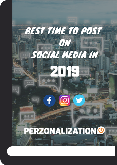 You can use the data provided in this eBook as a starting point and also monitor, analyze to arrive at your own best time to post on social media in 2019.