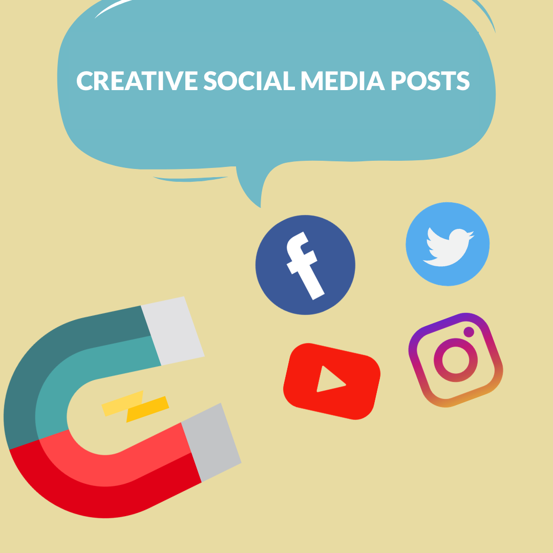 Increasing social media engagement in 2021 is more than easy with creative social media posts. This guide is here to widen your horizons.