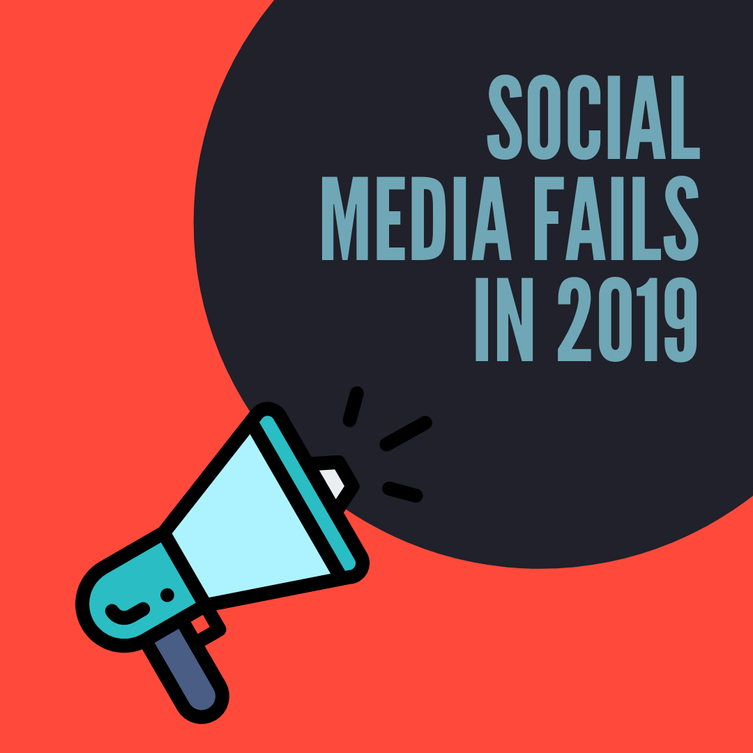 Social media fails in 2019 can your brand's reputation. This guide will be your best shelter to build a great social media profile for your brand!