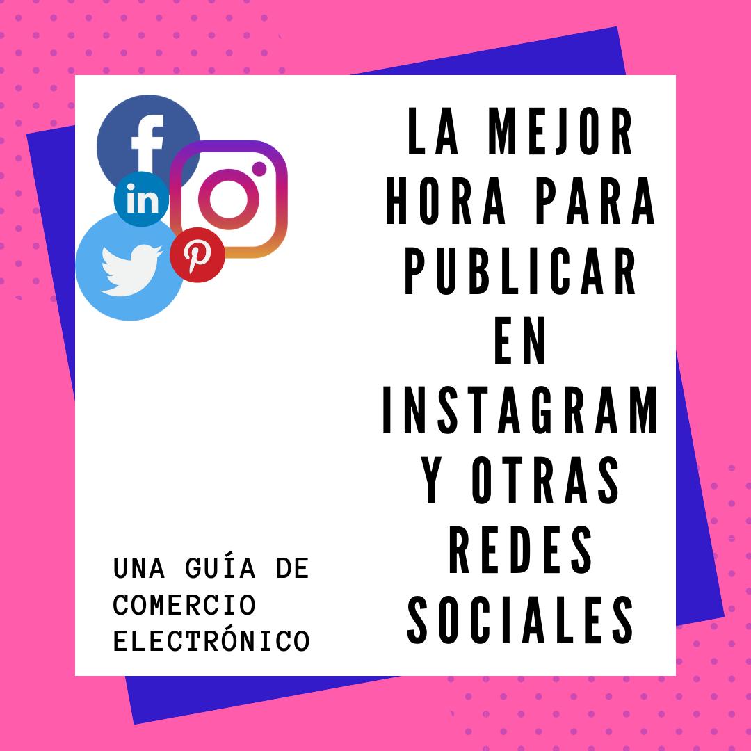 En este artículo, detallaré la mejor hora para publicar en Instagram, Facebook, Twitter y diferentes plataformas de redes sociales.