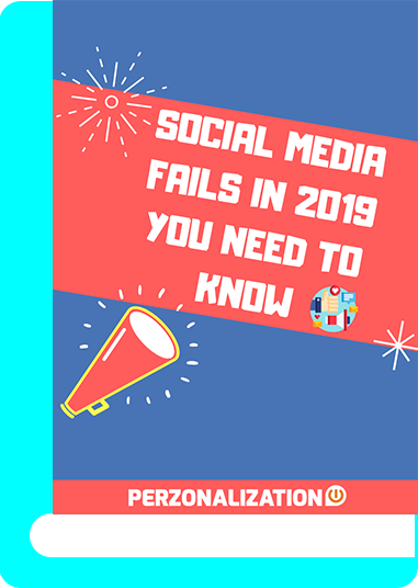 Social media posting fails of individuals can be easily deleted, thus create no problem. But when it comes to businesses, the rules of the game changes. In this free eBook you will find some of the top social media fails in 2019 made even by well-known brands.