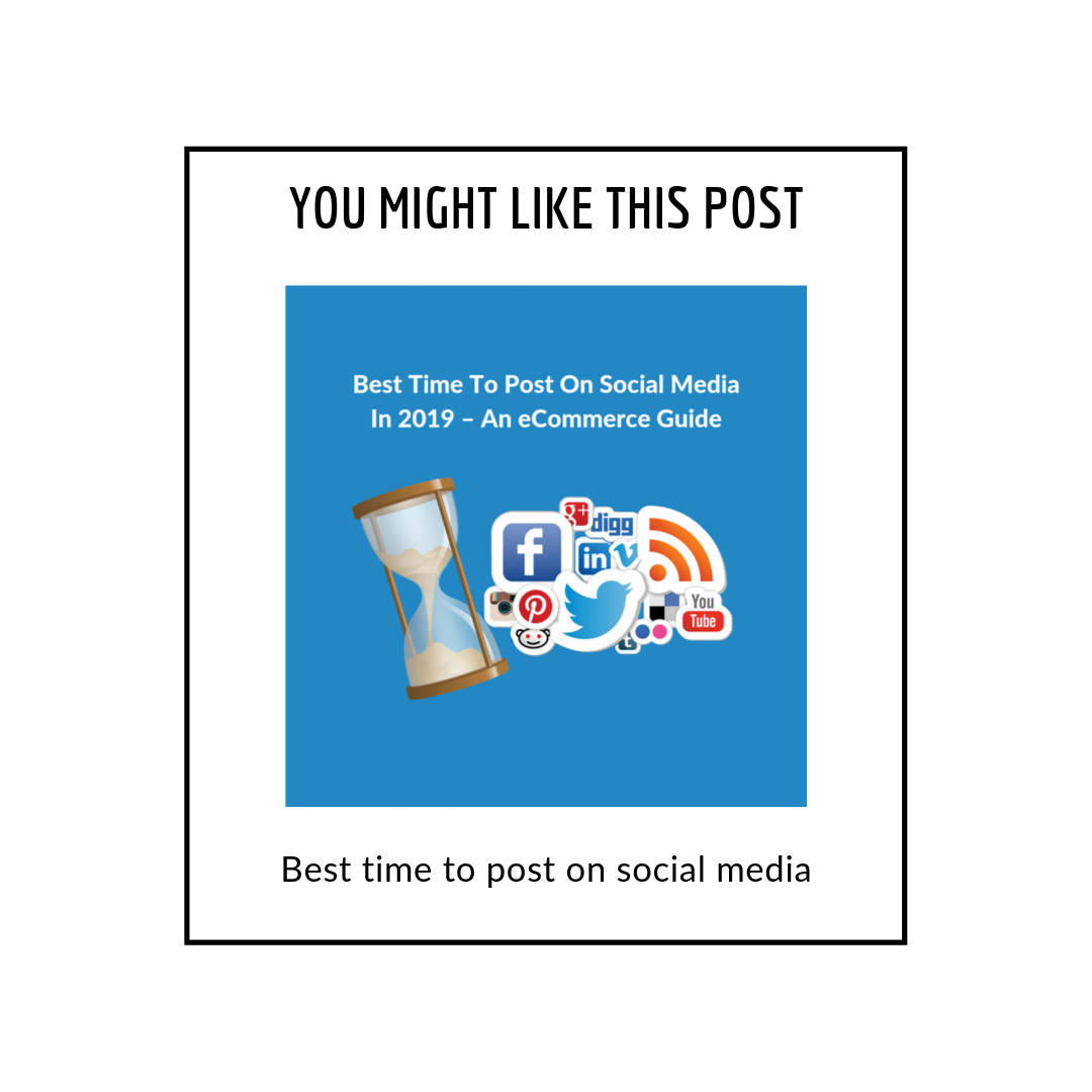 Best time to post on social media in 2019 - related popups popup
