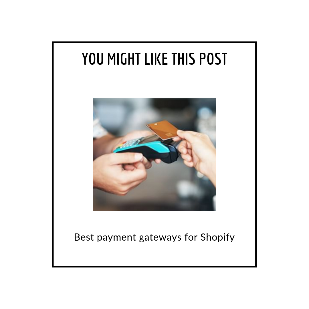 Best payment gateways for Shopify - related posts popup