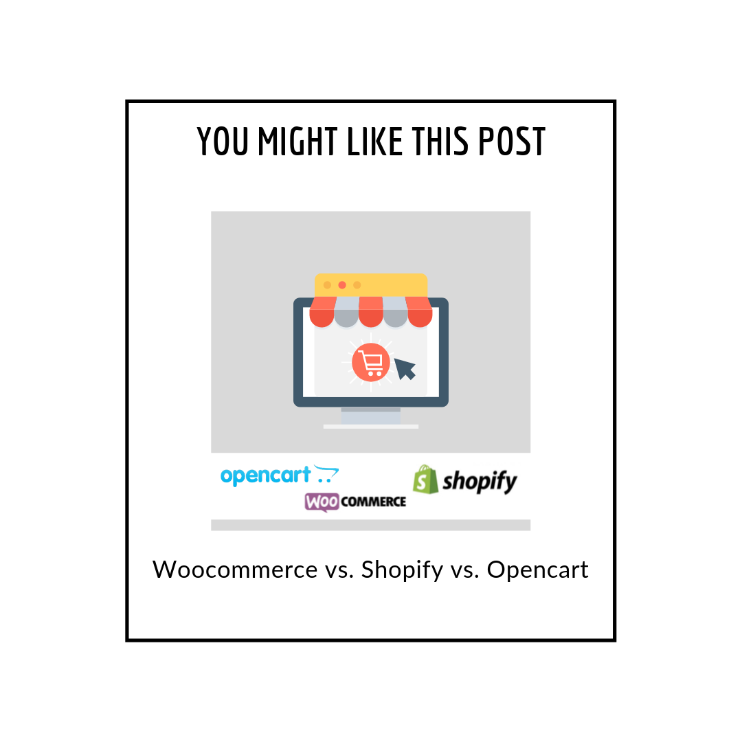 Woocommerce vs. shopify vs. Opencart - related posts popup