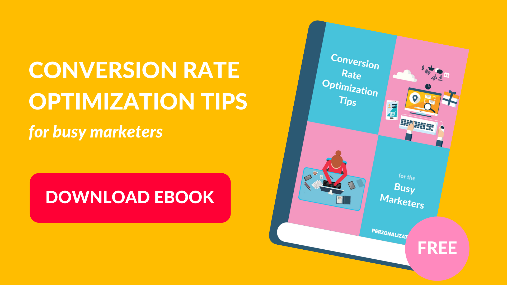 Download free eBook: Conversion rate optimization tips