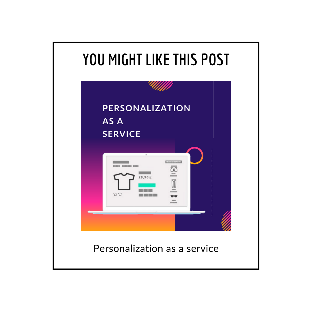 Personalization as a service related posts popup