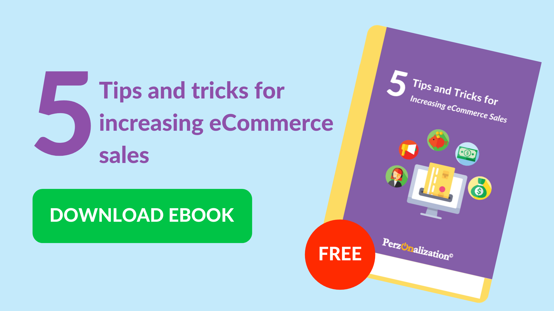 Download free eBook: Tips for increasing eCommerce sales