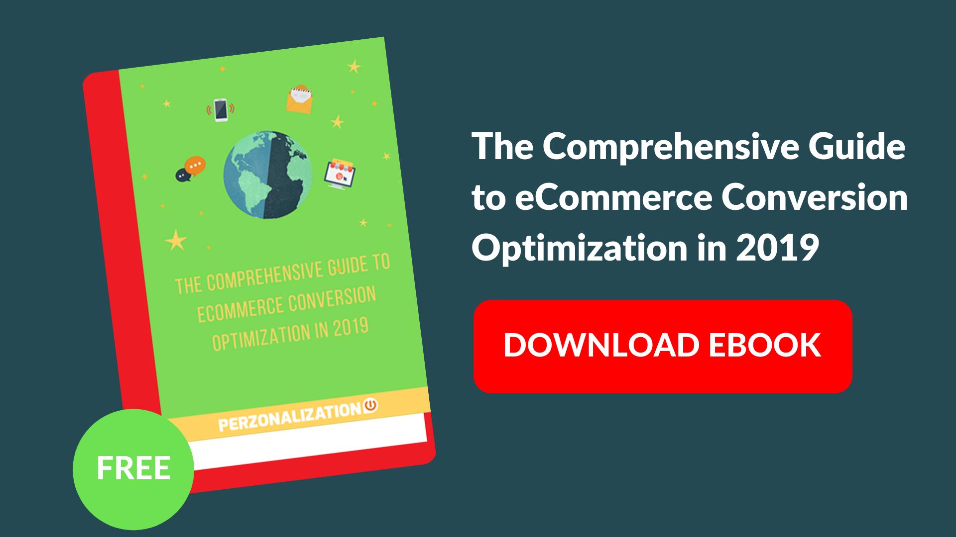 Download eBook: eCommerce Conversion Optimization Guide 2019