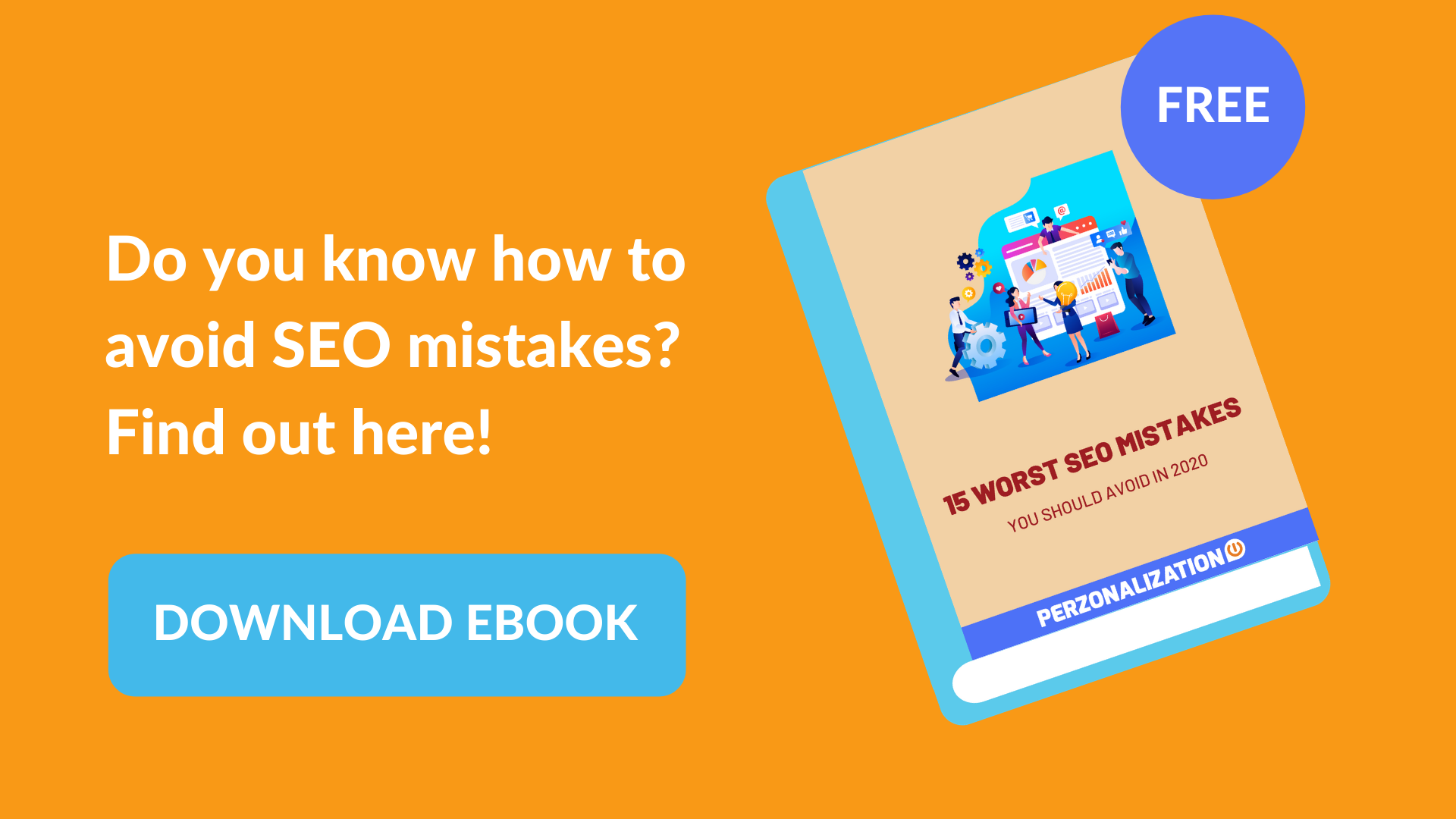15 Worst SEO Mistakes of 2020 You Should Avoid: Popup