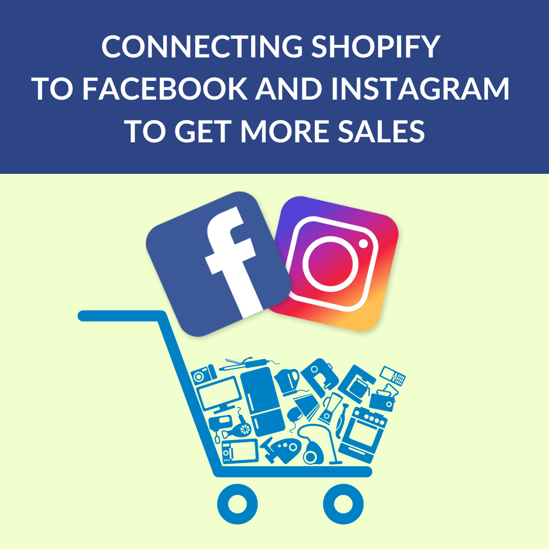This article will help you understand the basics of how to make Shopify sales via Facebook, connecting Shopify to Facebook and Instagram.